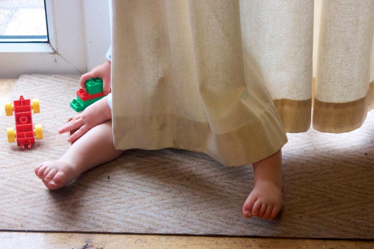 Ушиване на плътни пердета по зададени размери