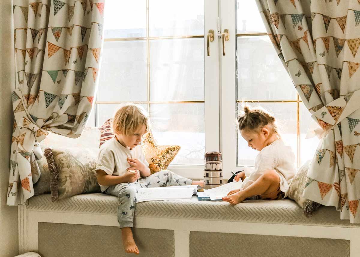 Изящни пердета за детска стая от Арт енд Декор